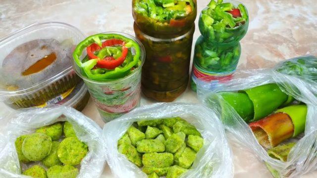 Где и как хранить болгарский перец свежим в домашних условиях