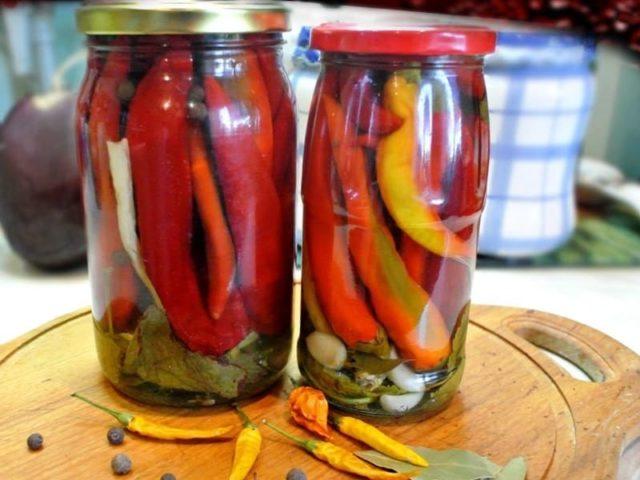 Как сохранить горький стручковый перец на зиму